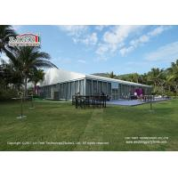 Quality Aluminum Outdoor Event Tents With Glass Sidewall For Meeting Event , Outdoor Party Tents for sale