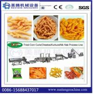 2017 hot selling China new design Nik Naks Machines/production line