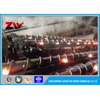 Buy cheap Good wear resistant grinding media balls 60Mn , AG Mill / SAG Mill Grinding Ball from wholesalers