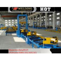 Buy cheap VFD Spot Welding Speed Control H Beam Assembling Machine Automatic To Fix Flange And Web from wholesalers