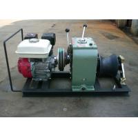 China High Efficiency Fast Petrol Cable Winch Puller Engine Powered Capstan 3 Ton wholesale