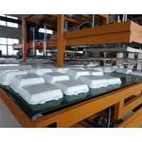 China Mechanical Arm PS Foam Food Container Production Line Water Absorption Styrofoam Plate Making Machine wholesale