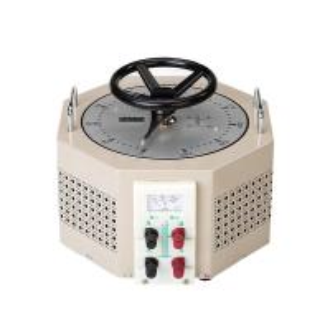 China Pale Yellow AC Single Phase TDGC2J-3  IP20 Variac Voltage Regulator wholesale