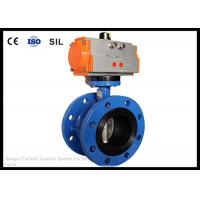 China Wafer Butterfly Valve Actuator , Flange Butterfly Valve Pneumatic Actuator wholesale