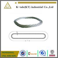 China Endless Round Grommet Wire Rope Slings Braided Loop Sling with Galvanized wholesale