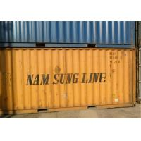 China Yellow 20FT 40 Foot Open Side Container For Intermodal Transport wholesale