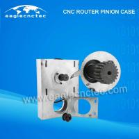 China CNC Router Drive Pinion Case Assembly Kit Tooth Gear Box with Common Pinion and Helical Pinion on sale