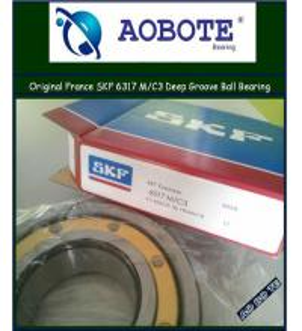 China Single Row Deep Groove Ball Bearing High Speed SKF 6317 M/C3 wholesale