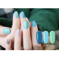 Buy cheap Smooth Surface Healthy UV LED Gel Nail Polish / ODM Soak Off Uv Gel from wholesalers