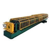 China HC100 Round Water Pipe Down Pipe Roll Forming Machine with Tube Bending wholesale
