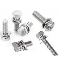China Hex Head Cylinder Head M4 M6 Stainless Steel Sems Screws By Internal Tooth Washer wholesale