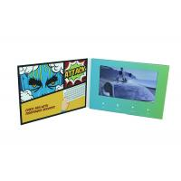 Quality led TFT business card with a screen, speaker, memory plus printing to promote for sale