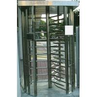 China 30 Persons / Min Full Height Turnstile with Sound Alarm Stainless Steel Tube for Airport wholesale