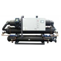 China Injection Molding Machine Water Cooled Screw Chiller With Double Compressor on sale