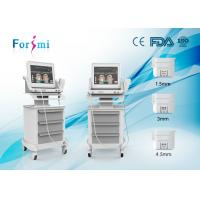 Buy cheap Super wrinkle removal/Face Lifting HIFU Machine High Intensity Focused Ultrasound Therapy from wholesalers
