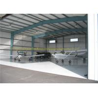 China GB JIS Steel Airplane Hangars Prefab Aircraft Hangars Q235B Q345B wholesale