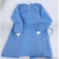 China Blue One Piece Hospital Isolation Gown Good Toughness High Durability Not Easy Aging wholesale