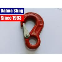 China Red 8mm Ratchet Strap Hooks , Tow Strap Hook CE GS Approved wholesale