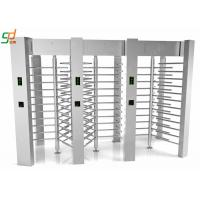 China Access Control Barriers Automatic Turnstile Security Full Height Turnstile Gate wholesale