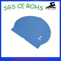 China Promotional cheap latex swimming caps wholesale on sale