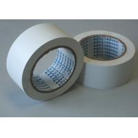 White BOPP Packaging Tape , Rubber Heat Resistant Tape Anti - Corrosion