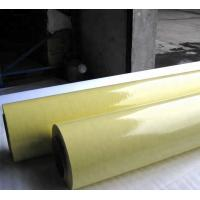 China Graphic Cover Cold Lamination Roll , Self Adhesive Cold Press Laminating Sheets on sale