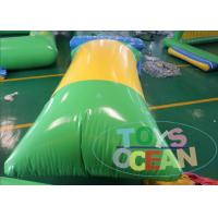 China Crazy Kids Inflatable Sport Game Floating Aqua Jumping Blob Pillow Tower For Pool wholesale