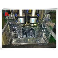 China High Safety PET Bottle Making Machine 5L Stretch Blow Moulding Double Start Working Button wholesale