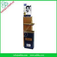 China Innovative pop displays Promotion cardboard makeup  display stand Custom beauty products floating shelf wholesale