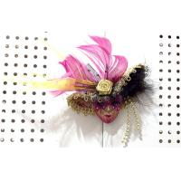 "China Venice mask magnet & brooch 3.5""PF0451B wholesale"