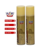 Buy cheap Acrylic Resin MSDS 300ml Wood Varnish Spray Paint 65*158mm from wholesalers