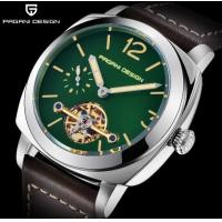 China PAGANI DESIGN Leather Band  Men Automatic mechanical wrist watch PD-2769 wholesale