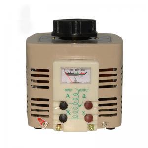 China TDGC2J-2K Single Phase Powerstat Variable Autotransformer Voltage Regulator wholesale