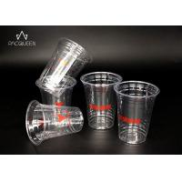 China Recyclable Disposable Plastic Dessert Cups Crack Resistant Food Safe Grade wholesale