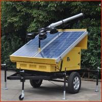 Buy cheap 2016 LED mobile solar portable light towers 4*100W with Solar System from wholesalers