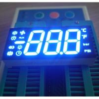 China Customized 7 Segment LED Display Three Digit 47 X 22 X 9 Mm Outer Dimensions wholesale