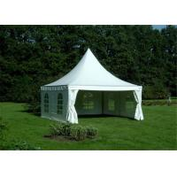 China Heavy Duty Clearspan Marquee Pagoda White Event Tent For 50 People wholesale