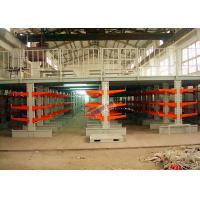 Industrial Orange Extra Heavy Duty Cantilever Racks For Plywood / Furniture for sale