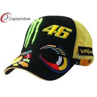 China Cotton Twill Fabric Racing Baseball Caps With Metal Buckle Closure For Youth wholesale