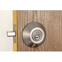Quality Stainless Steel Metal Sliding Door Locks Single Cylinder Deadbolt 3 Same Brass for sale