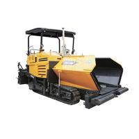 China 140kw Engine Mechanical Assembling Screed Asphalt Paving Machine With Gas Heating wholesale