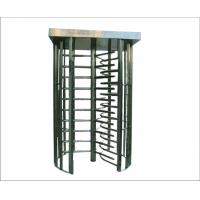 China Mechanical Safty Double Full Height rotate turnstile, electric barrier gate turnstyle door wholesale