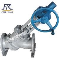 Buy cheap Y Type Angle Valve for Slurry Control in chemical plant or Alumina plant from wholesalers