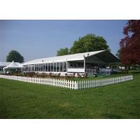 China Durable Great Peak Clear Wedding Tents Wind Resistant Environmentally wholesale