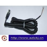 China Telephone Handset Coil cable ( flat cable) wholesale