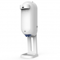 China Automatic Hand Sanitizer Dispenser Infrared Intelligent Sensing White Color 1100ml wholesale