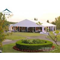 China Long Term 15 X 35 Outdoor Event Tents , 15m Clear Span White Marquee Wedding wholesale