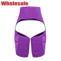 China Purple Three Thigh Belts 2 In 1 Butt Lifter And Thigh Trimmer wholesale