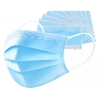 China Top quality 3Ply Non Woven Air Anti Virus and Dust disposable Surgical Medical Face Mask , surgical non woven 3 ply mask wholesale