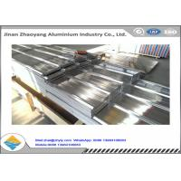 Quality No Pollution Fireproof Corrugated Aluminum Sheet Excellent UV Resistance for sale